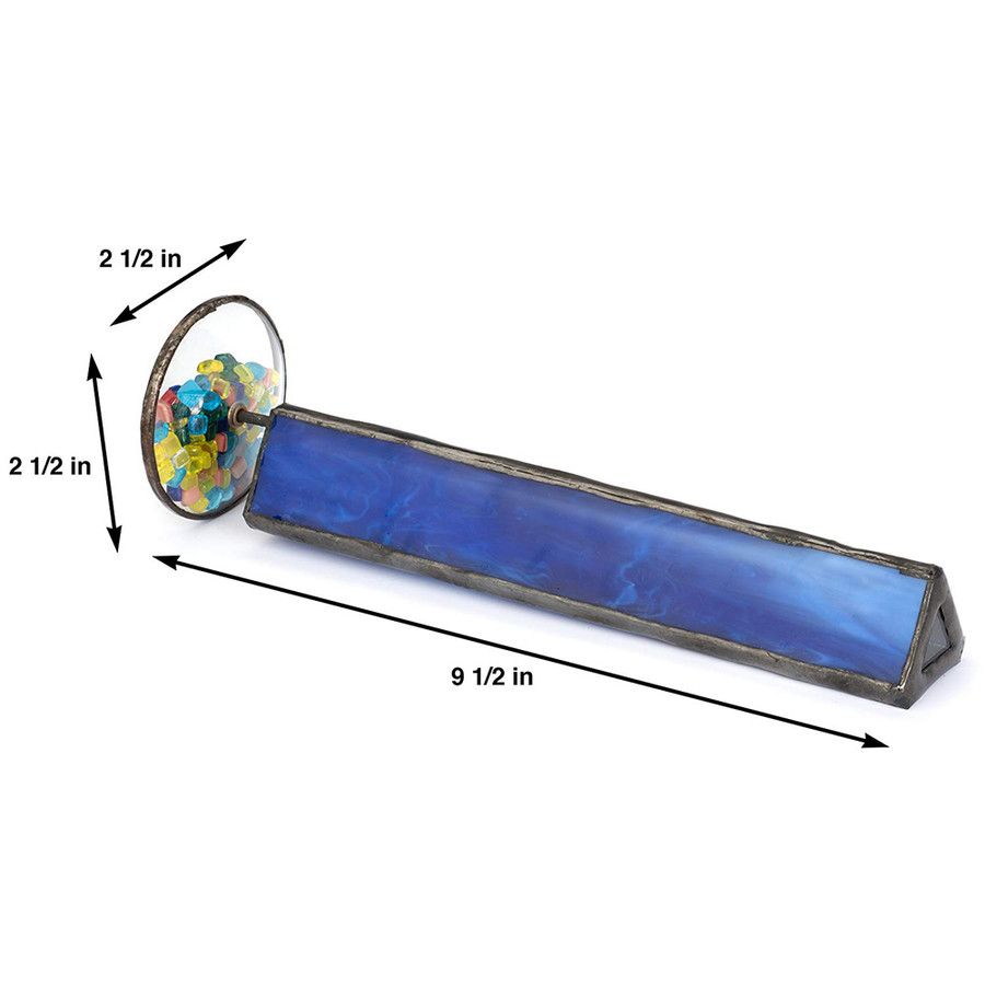 J. Devlin Kal 103 Blue Tumble-Wheel Kaleidoscopes