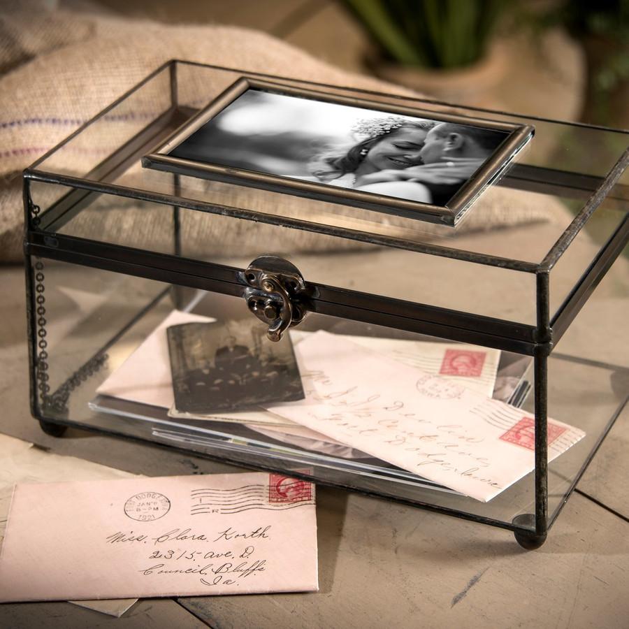 J. Devlin Box 603 Glass Photo Display Case