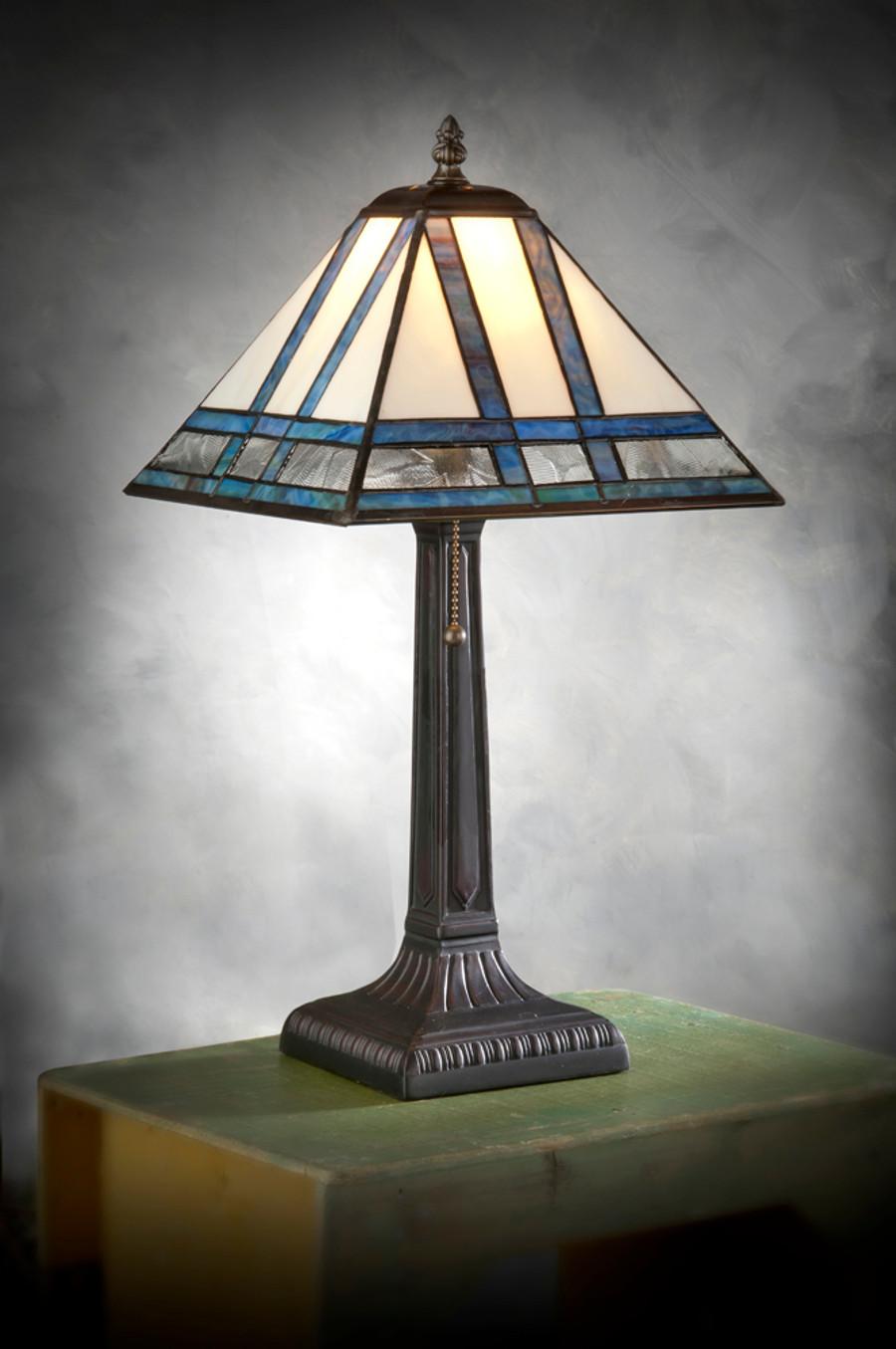 J. Devlin Lam 380 TB Mission Table Lamp