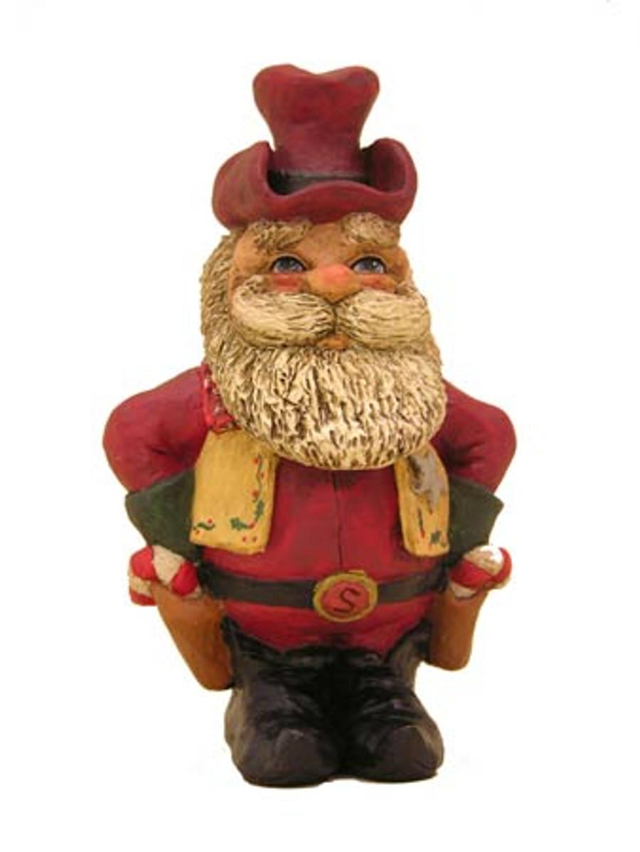 Bert Anderson Collection MB14 Cowboy Santa