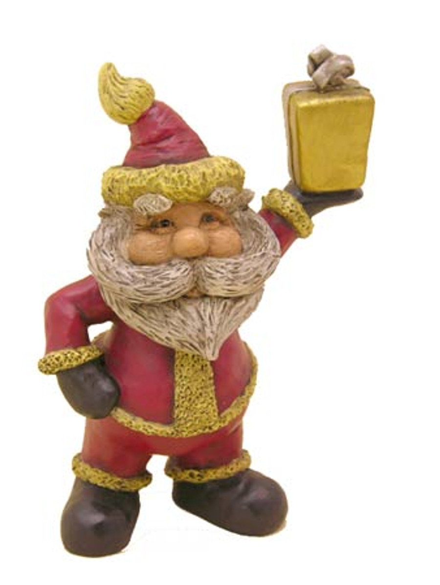 Bert Anderson Collection MB16 Santa with a Gift