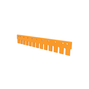 "7T3601 CAT 3/4"" Holes 5FT Flat Serrated Heat Treated Grader Blade"