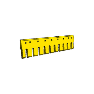 "4T8800 CAT 3/4"" Holes 4FT Flat Serrated Heat Treated Grader Blade"