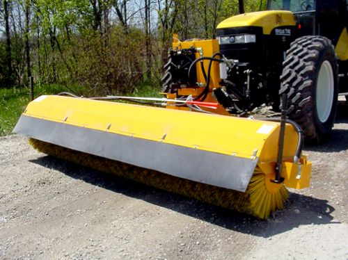 TKH-T Tractor Hydraulic Driven Rotary Angle Broom