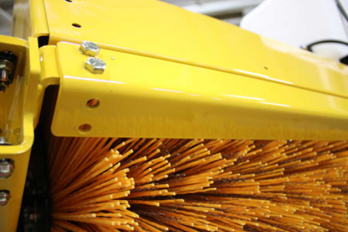TKH-L Loader Hydraulically Driven Rotary Angle Broom
