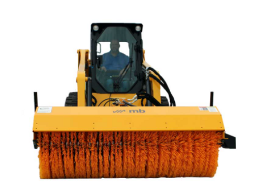HL Skid Steer Hydraulically Driven Rotary Angle Broom