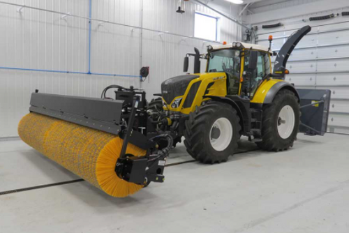 FMC Loader/Tractor Hydraulically Driven Rotary Pick-up Broom