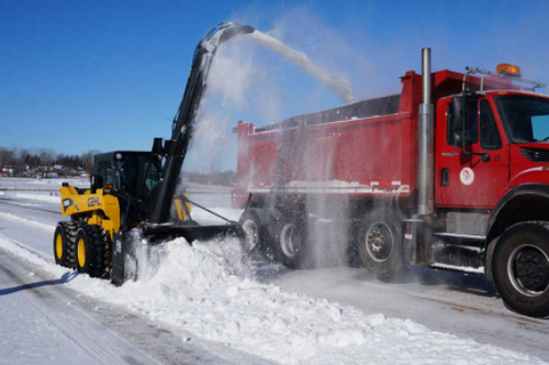 HC-SNB Loader/Tractor Hydraulically Driven Snow Blower/Auger