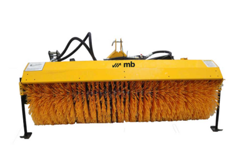 HCT Commercial Turf Mower Hydraulically Driven Rotary Angle Broom