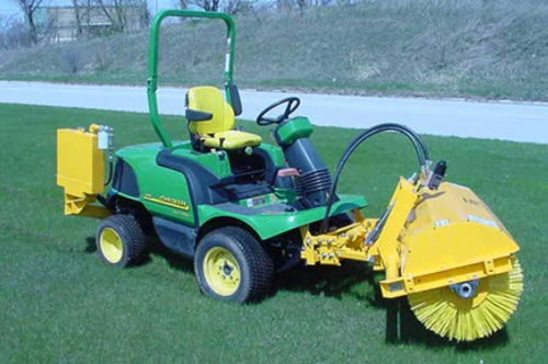 SHL-CT Commercial Turf Mower Hydraulically Driven Rotary Angle Broom