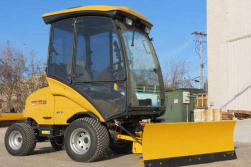 DZR Commercial Turf Mower Independently Driven V-Plow