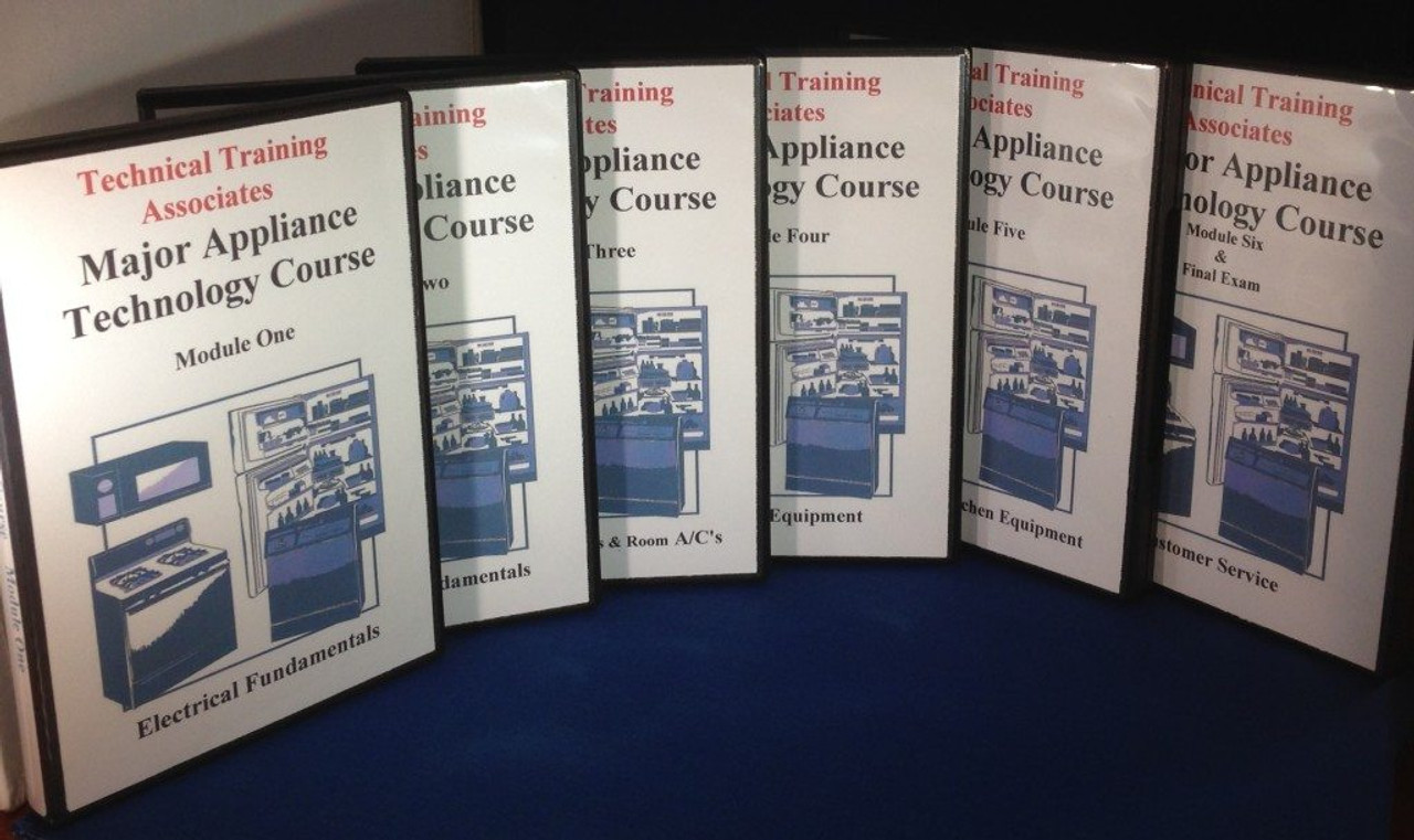 Major Appliance Courses