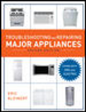 Appliance Repair Text Books: Teach How to Diagnose, Troubleshoot and Repair