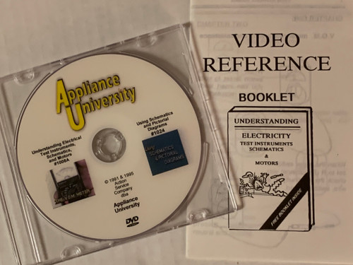 Understanding Electricity, Test Instruments, Schematics & Motors       Included on same DVD:Using Schematics & Pictorial Diagrams       This Video course explains how simple schematics are used when       approached on a line-by-line basis. Discussed are refrigerators, air       conditioners, laundry equipment, electric & gas ranges, and       microwave ovens.