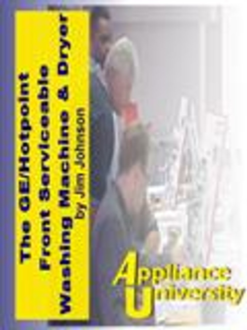 GE/Hotpoint Front-Serviceable Washing &  Dryer DVD 2 Tutorial DVD courses