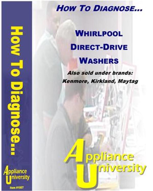 Repairing Whirlpool Waher Direct-Drive Tutorial
