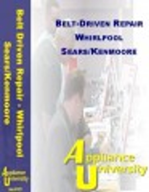 Washer Belt-Drive Repairing By Whirlpool-Tutorial