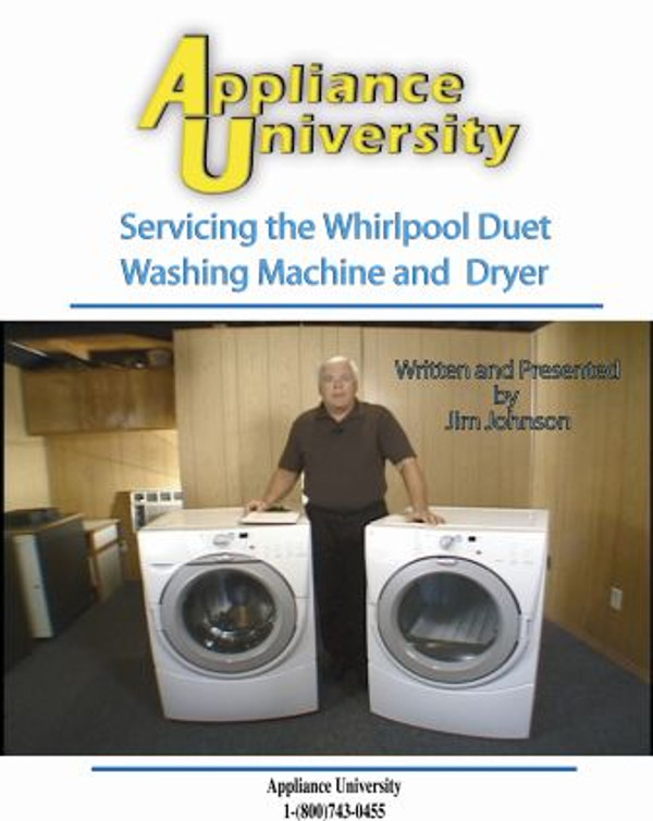Servicing Duet Front Load Clothes Washer