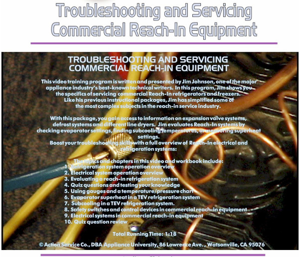 Troubleshooting and Servicing Commercial Reach-In Equipment Tutorial