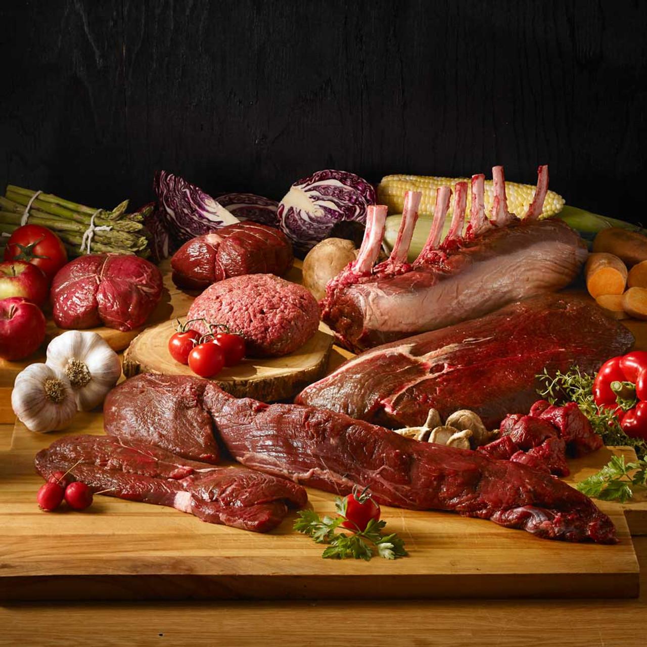 elk meat sampler value pack 10