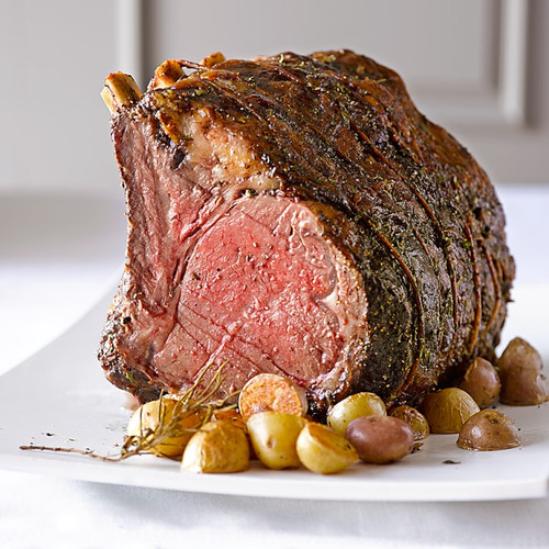 Bone-IN Bison Prime Rib Roast: 4 lbs