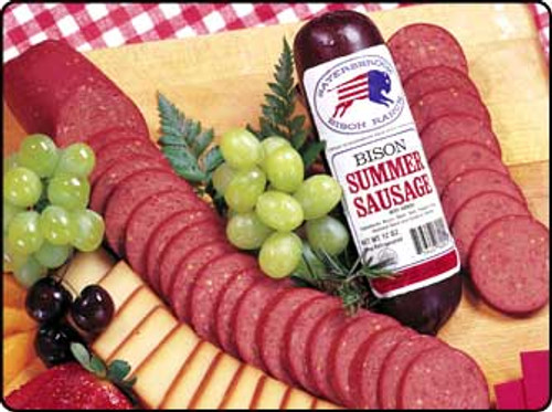 Traditional Bison Summer Sausage (2) 6oz