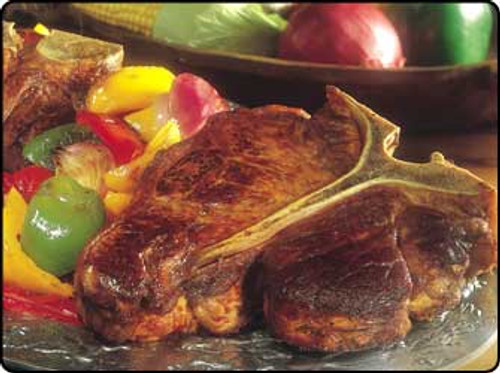 Bison T-bone steak