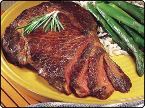buffalo ribeye steak
