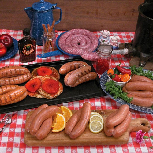 Italian brats and sausage