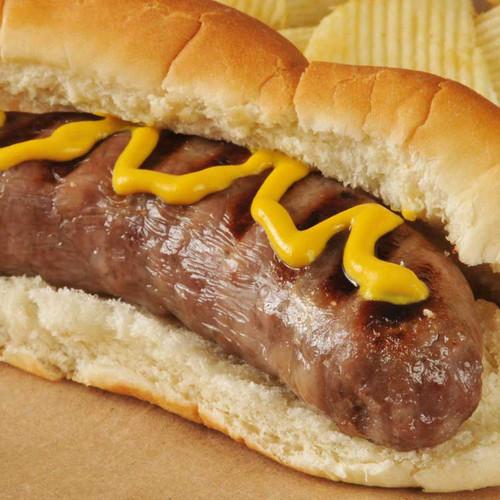sausage in a bun