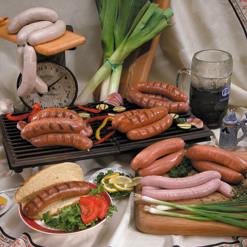 bratwurst and sausage collection