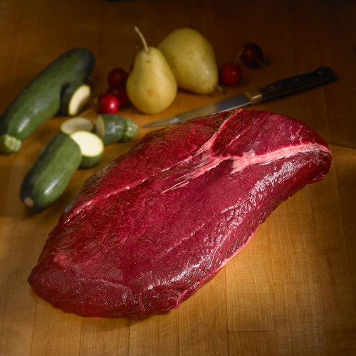 elk strip loin steaks