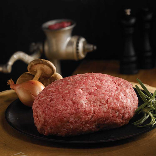 Wild boar ground meat