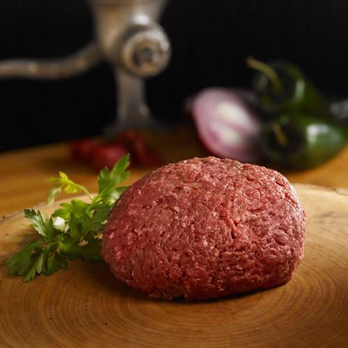 Elk meat ground