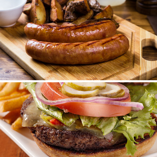 Bratwurst and Burgers Sampler Pack