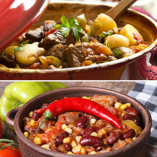 bison chili and stew