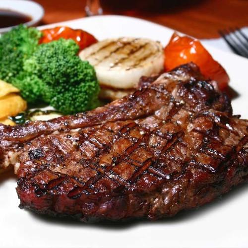 Steak from Sayersbrook Bison Ranch