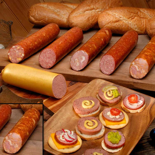 Andouille Cajun Ham Sausage