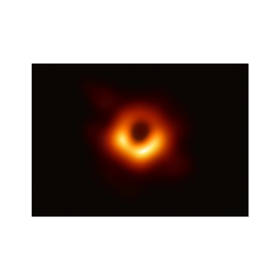 First Image of a Black Hole Hahnemühle Photo Rag Print