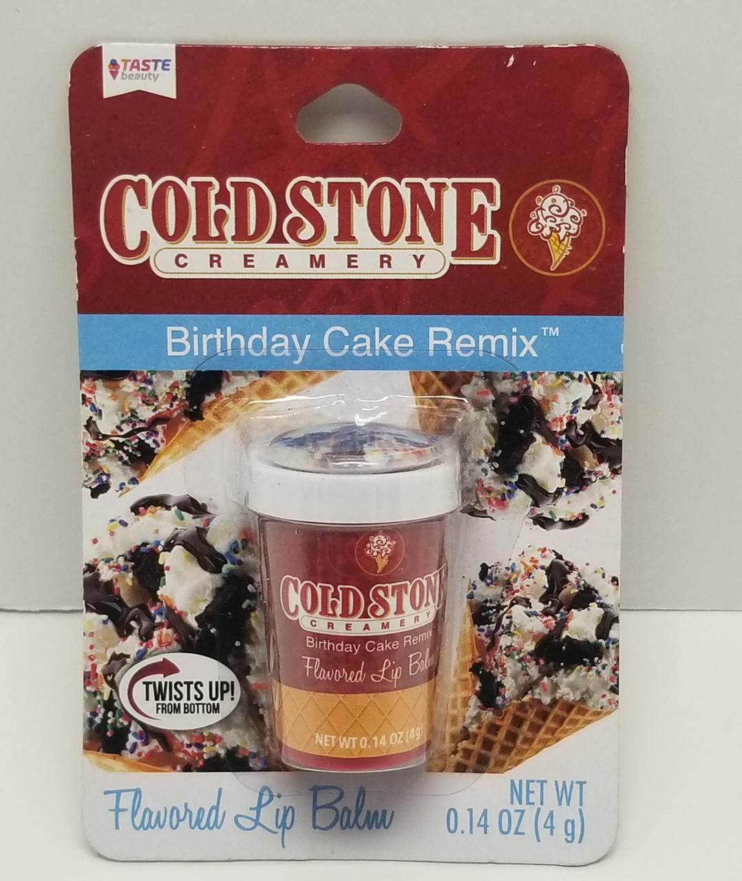 Incredible Cold Stone Creamery Birthday Cake Remix Flavored Lip Balm 0 14Oz Funny Birthday Cards Online Alyptdamsfinfo