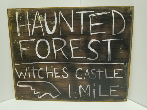 Haunted Forest Witches Castle