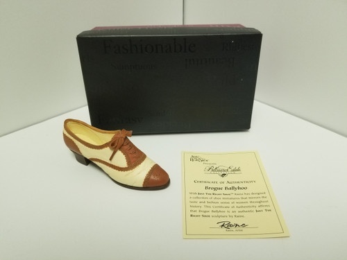 Just The Right Shoe - Brogue Ballyhoo