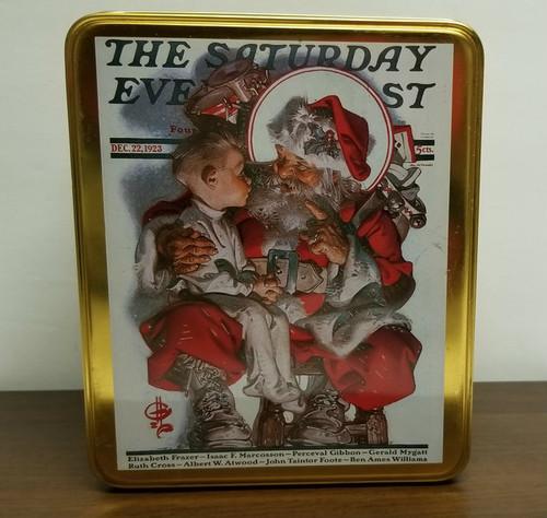 Norman Rockwell Centennial Year 1894-1994 Tin Box