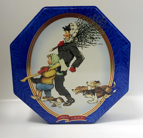 1997 Snicker's Norman Rockwell Limited EDITION Tin