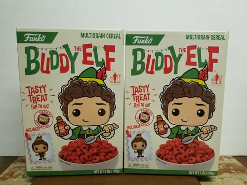 "2 Boxes -  FUNKO Pop! Funko's ""Buddy Elf"" Target Exclusive Cereal & Funko Pop"