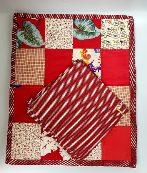 8 Pc Pook-a-dot & Patch-Work Napkins and Placemats (Table of 4)