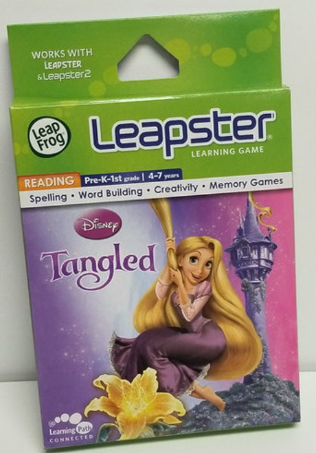 Leapster Learning Game Disney's TANGLED by LeapFrog