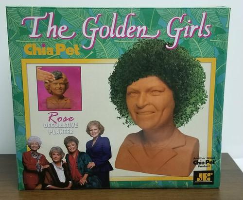 "The Golden Girls ""ROSE"" Chia Pet"