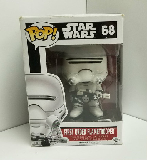 Funko POP! Star Wars First Order Flametrooper #68