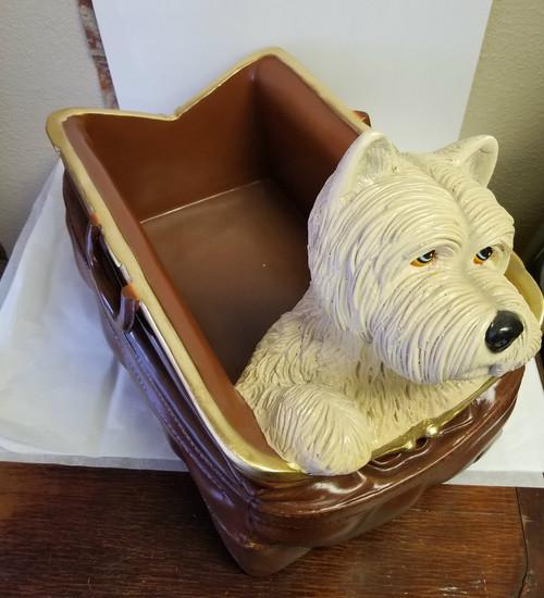 Scottie In A Bag - Whimsical Storage/Decor Home Decor